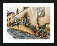 Floral Display Cortona Picture Frame print