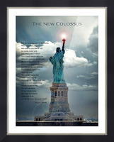 New Colossus Picture Frame print