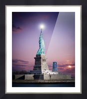 Liberty1 Picture Frame print