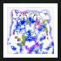 Spirit of the Snow Leopard  Picture Frame print