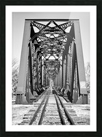 The Trestle Picture Frame print