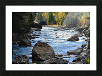 Babbling Brook Picture Frame print