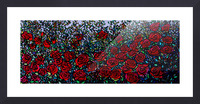 Garden of Roses Picture Frame print