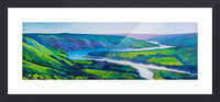 Peace River in Spring Picture Frame print