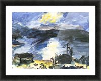 Walchensee -4- by Lovis Corinth Picture Frame print