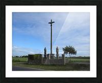 a la crois  e des chemins at the crossroads Picture Frame print