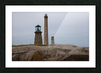 Architecture marine Light house Picture Frame print