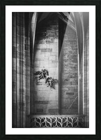 Gothic angels Picture Frame print