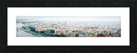 Budapest panorama Picture Frame print