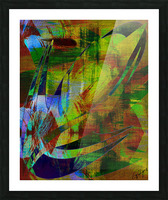 ABSTRACT-1007 SPATIAL Picture Frame print
