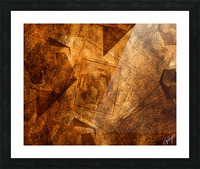 ABSTRACT-1008 Sociability Picture Frame print
