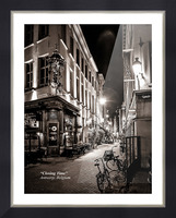 Closing Time Picture Frame print