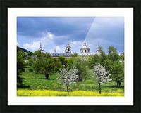 Casita del Principe 5 of 7 - Park and Gardens - The Royal Monastery of San Lorenzo de El Escorial - Madrid Spain Picture Frame print