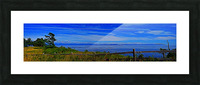 View from Cape Lazo Picture Frame print