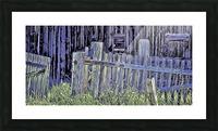 Forsaken Barnyard Picture Frame print