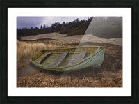 Clinker-built Rowboat Picture Frame print