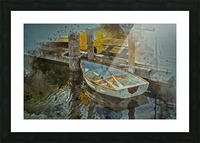 Rowboat Picture Frame print