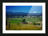 Comox Valley Thirty Years Ago Picture Frame print