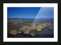 Boulders at Low Tide Picture Frame print