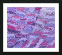 shades of purple Picture Frame print
