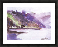 Walchensee -6- by Lovis Corinth Picture Frame print