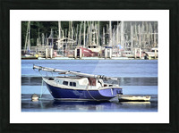 Resting in the Harbor Picture Frame print