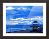 Gone Fishing  Costa Del Sol  Spain 1 of 2 Picture Frame print