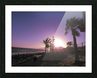 Sunset   Costa Del Sol   Andalusia Spain Picture Frame print