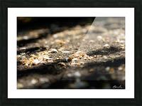 Confettis sur bitume Impression et Cadre photo