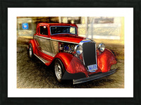 1933 Dodge Coupe Picture Frame print