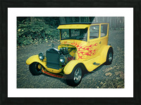 1927 Ford Model-T Picture Frame print