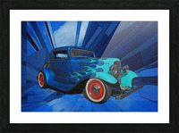 1932 Ford 3-Window Coupe Picture Frame print