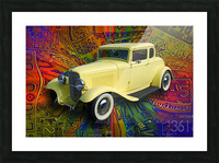 1932 Ford Coupe Picture Frame print