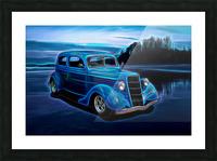 1935 Ford 2-Door Sedan Picture Frame print