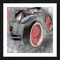 1930 Packard Picture Frame print