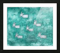 Donkeys Picture Frame print