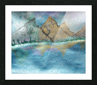 Mountains Picture Frame print