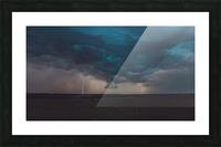 Prairie Storm Picture Frame print