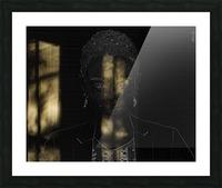 Entrer dans la lumiere -  Step into the light Picture Frame print