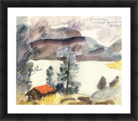 Walchensee -7- by Lovis Corinth Picture Frame print