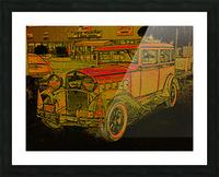 1930 Hudson Picture Frame print