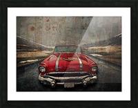 1956 Pontiac Strato-Streak Picture Frame print