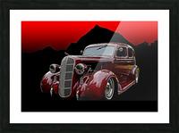 1936 Dodge 4-Door Sedan Picture Frame print