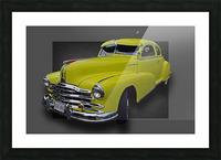 1948 Pontiac Silver Streak Picture Frame print
