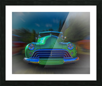1947 Oldsmobile 2-Door Picture Frame print