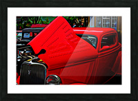 1933 Ford Window Coupe Picture Frame print