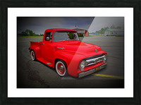 1953 Ford Pickup Picture Frame print