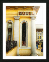 Royal Albion Hotel Brighton Entrance Picture Frame print