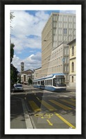 Sunny Day in Zurich Picture Frame print
