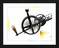 Antique Aspirations Towards Steampunk Picture Frame print